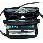 Ultimate Double Zippered Wallet with Calculator