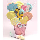 All About Babies Cookie Pot Bouquet