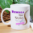 Personalized Hair Stylist Coffee Mug