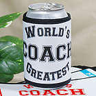 Personalized Worlds Greatest Can Wrap Koozie