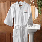 Hers Embroidered Velour Spa Robe