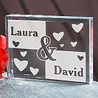 Engraved Couples Plaque