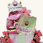Baby's 1st Birthday Gift Basket for Girl