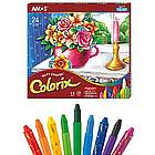 Colorix Silky Crayons and Brush