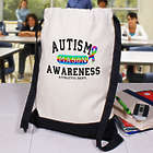 Personalized Autism Awareness Sports Bag