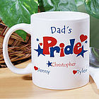 American Pride Hearts & Stars Mug