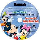 Personalized Mickey Mouse Music CD