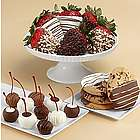 Fancy Dipped Strawberries, Dipped Cherries & Dipped Cookies