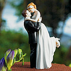 Romance Couple Wedding Cake Topper