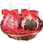Caramel Apple Duo Valentine Gourmet Gift Basket