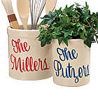 Personalized Kitchen Utensil Holder