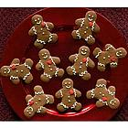 Homemade Holiday Gingerbread Cookies