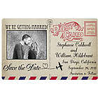 Custom Photo Postcard Save the Date Magnets