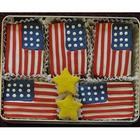 Red, White and Blue Sugar Cookie Gift Tin