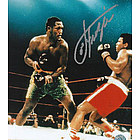 Joe Frazier vs. Ali Autographed 8x10 Photograph