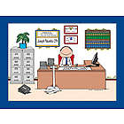 Personalized Accountant CPA Cartoon Print