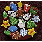 Christmas Holiday Sugar Cookie Gift Box