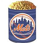 New York Mets 3 Way Popcorn Gift Tin
