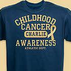 Childhood Cancer Awareness Athletic Dept. T-Shirt