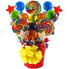 Festive Whirly Lollipop Bouquet