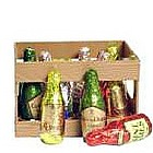 Chocolate Liquor Bottles in Mini Crate