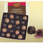 Milk and Dark Chocolate Cherry Cordials Gift Box
