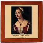 Shakespeare Sonnet 18 Renaissance Portrait Box