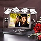 Beveled Glass Personalized Graduation Frame