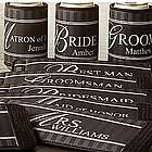 Personalized Bridal Party Coozie