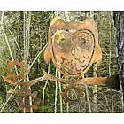 Metal Art Garden Owl