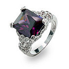 The Desperate Housewives Amethyst CZ Ring