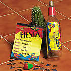 Personalized Fiesta Invitations in a Bottle