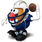 San Diego Chargers Mr. Potato Head Toy