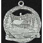 Grandmother's House Pewter Ornament