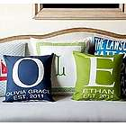 Personalized Baby Initial Pillow
