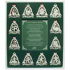 12 Days of Christmas Ornament Set with Story Card