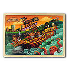 The Pirates of Boston Wooden Puzzle
