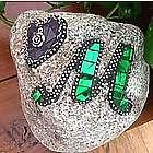 Custom Monogram Mosaic Garden Stone