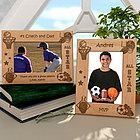 Personalized All Star Sports Wooden Picture Frame