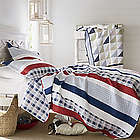 Nautical Stripe Full/Queen Oversized Reversible Quilt