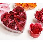 Heart Rose Soap Petals