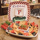 Florida Gators Gameday Chip and Dip Set