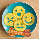 Crack a Smile Emoji Pancake and Egg Mold