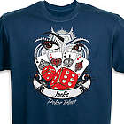 Personalized Poker Place T-Shirt