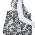 Black Rose Rosa Reusable Shopping Bag