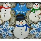 Let It Snow Sugar Cookie Gift Tin
