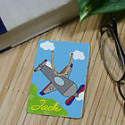 Personalized Airplane Bookmark