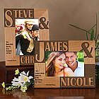 Romantic Because of You Personalized Picture Frame