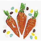 Carrot-Shaped Bags with Jelly Beans