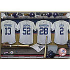Personalized New York Yankees Locker Room 16x24 Canvas Print